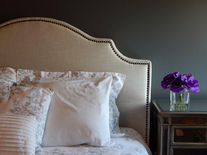 Sypialnia i dywan