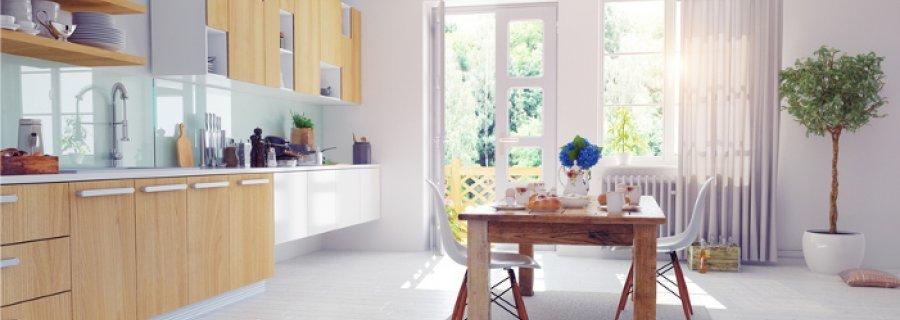 dywan w kuchni