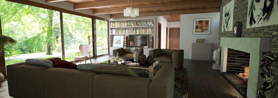 wnętrze z dywanem